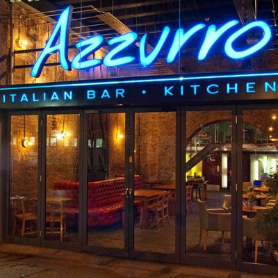 Azzurro Italian Bar + Kitchen London Bridge
