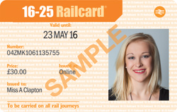 Make the most of your Railcard promo code Click on the Railcard voucher code you want to redeem and you'll be taken to the Railcard website. Find the Railcard you're eligible for and click on