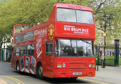 Big Brum Open Top Buz Sightseeing Tour