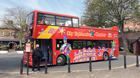 City Sightseeing Chester Tour