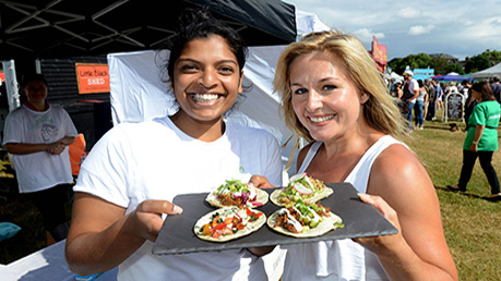 Foodies Festival: Alexandra Palace