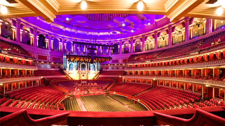 Royal albert hall grand tour family friends railcard for Door 12 royal albert hall