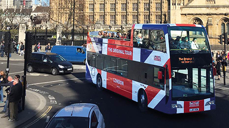 Hop-On Hop-Off London Bus Tour - City Sampler