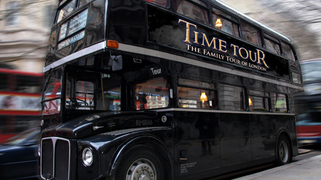 The London Time Tour Bus - A Journey Through London, Through Time!
