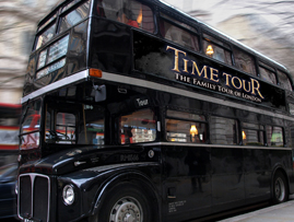 The London Time Tour Bus