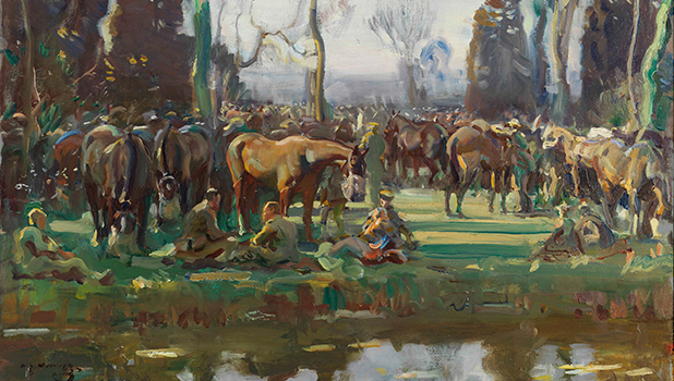 National Army Museum - Alfred Munnings: War Artist, 1918