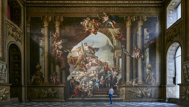 The Painted Hall at Old Royal Naval College