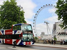 Hop-On Hop-Off London Bus Tour - City Sampler