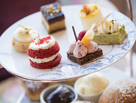 Afternoon Tea at The Amba Hotel Charing Cross