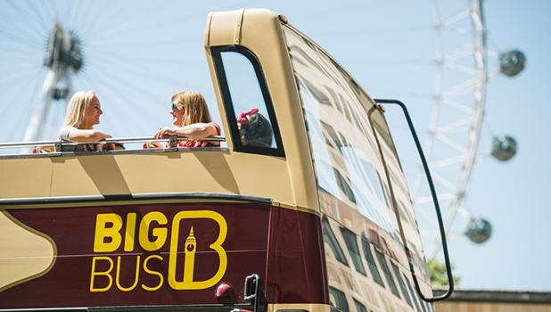 London Hop-on, Hop-off, Open-top Bus Tour - Big Bus Tours